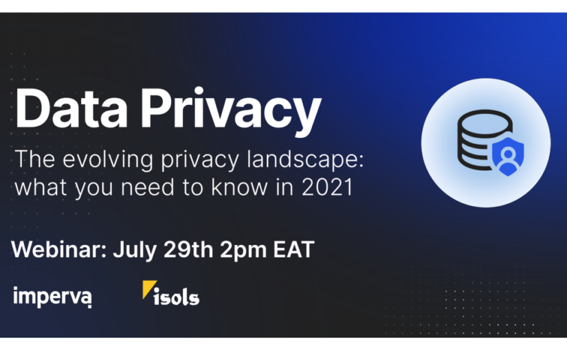 Data Privacy Webinar Invitation